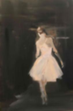 Solo Ballerina: 24 x 36 :acrylic.jpg