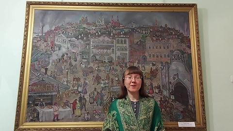 "Картина Ю.М.Тарасова ""Старас Самара"""