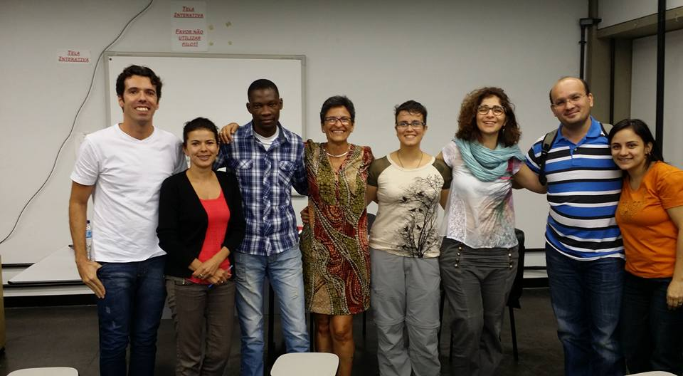Membros do DDEEJ com Daniela Auad