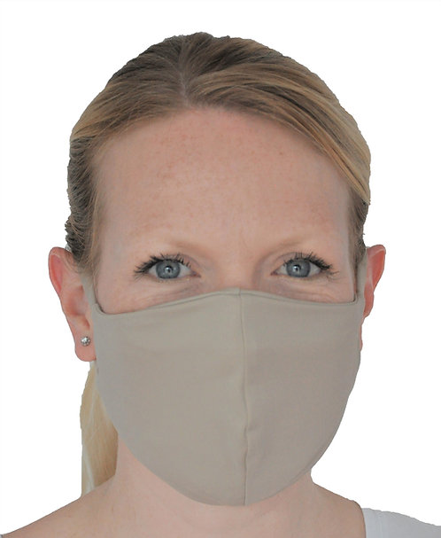 Premium Face Mask With N95 Filter - Light