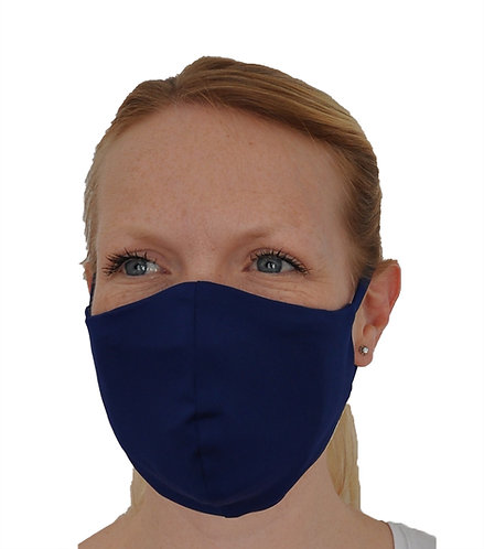 Premium Face Mask With N95 Filter - Navy