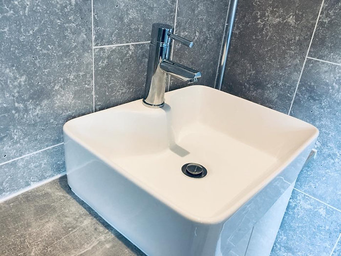 Bathroom Basin Installation