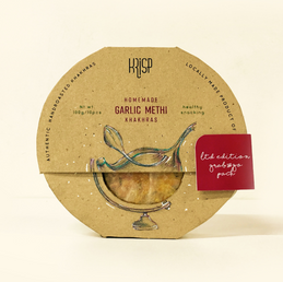 Design Research and Packaging for Krisp