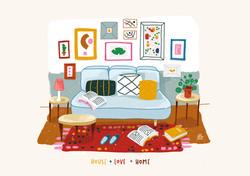 6. House + Love = Home
