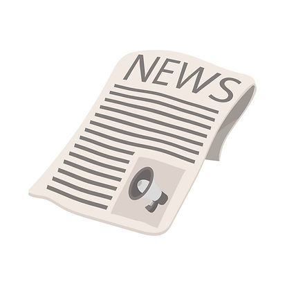 newspaper-icon-megaphone-on-cover-cartoo