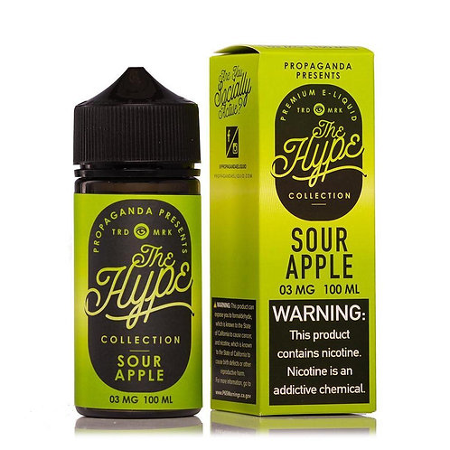 THE HYPE Sour Apple 100ml