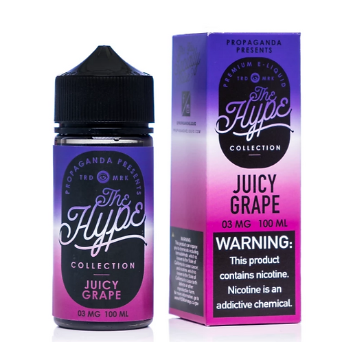 THE HYPE Juicy Grape 100ml