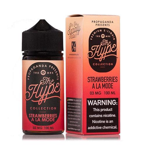 THE HYPE Strawberries A La Mode 100ml