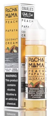 Pacha Mama -  Peach Papaya Coconut Cream
