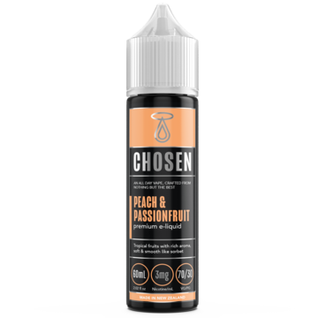 CHOSEN - PEACH AND PASSIONFRUIT 60ml