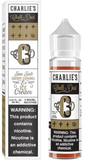 Charlie's Sea Salt Savory Caramel & Ice Cream