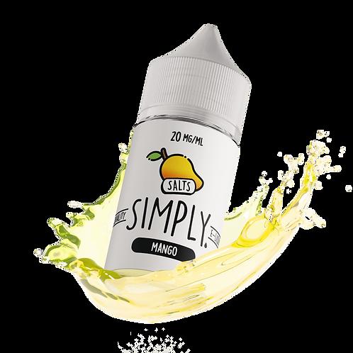 SIMPLY SALTS - MANGO 30ml