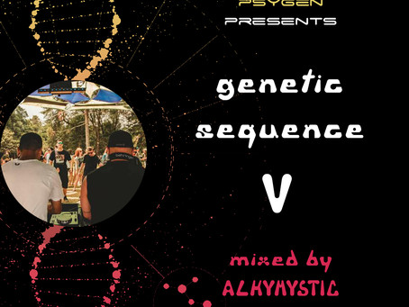 GENETIC SEQUENCE VOL. V on air!