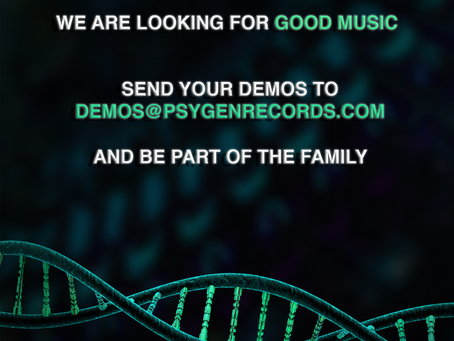 We want to hear your music!