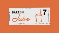 2019年7月21日(日)「BAKED & JUICE」@YOKOHAMA MARINE WAKEに出店します