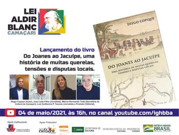 """Livro """"Do Joanes ao Jacuípe, uma história de muitas querelas, tensões e disputas locais"""" - Lanç. 4/5"""