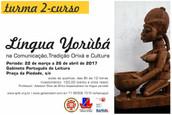 INSCRIÇÕES ABERTAS PARA A SEGUNDA TURMA -Minicurso de Introdução à Língua Yorùbá na Comunicação, Tr