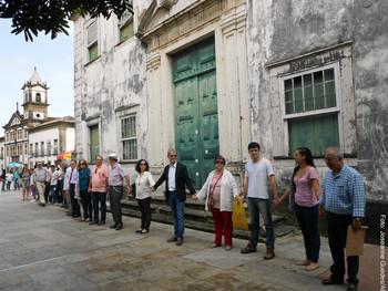 Abraçaço clama pela restauração do Palácio Arquiepiscopal