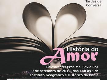"""Tardes de conversa apresenta a """"História do Amor"""" nesta segunda, 9 de setembro"""