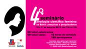 Seminário ProduçãoCientíficaFeminina na Bahia acontece dias 16 e 17 de março, no IGHB
