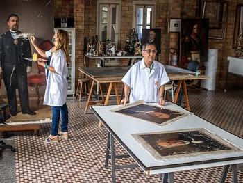 Retratos da Bahia: 22 telas de baianos dos séculos XIX e XX (com acervo IGHB), passam por restauro