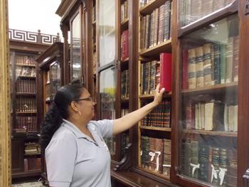 O Instituto Geográfico e Histórico da Bahia parabeniza ao profissional bibliotecário pelo seu dia (1