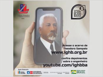 Vídeos sobre o processo de digitalização do acervo de Theodoro Sampaio estão no youtube/ighbba