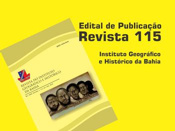 Edital de Publicação n. 003/2019 Revista IGHB