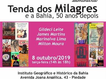 Tenda dos Milagres e a Bahia, 50 anos depois
