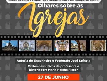 """27 de junho - Exposição """"Olhares sobre as Igrejas"""""""