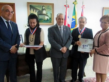 TJ-BA homenageia o IGHB e o Arquivo Público com a Medalha dos 410 anos