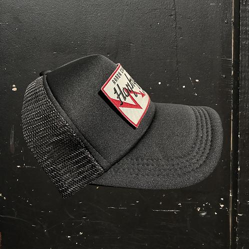 Black Foam Trucker Hat