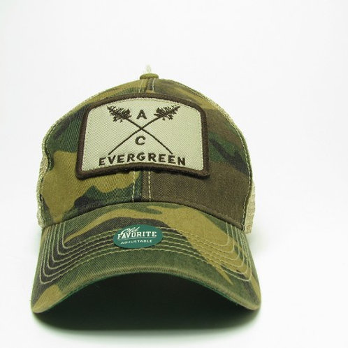 Evergreen Camo Hat