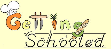 food, cooking, culinary, school, kitchen, getting, schooled, culinary school, home cook, learn to cook, sheila myjo, industry pros, chefs, knives, knife cuts, knife skills, knife