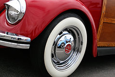 woodie, car, volkswagen, reflection, california, vintage, retro
