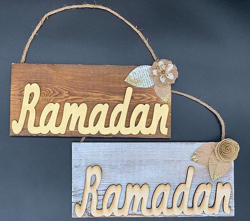 Ramadan Door Signs