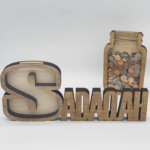 Coin Collecting Sadaqah Jar