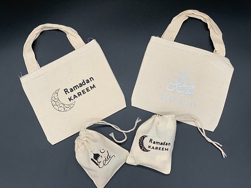 Personalized Ramadan/Eid Totes & Goodie Bags
