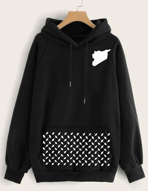 Syria hooded sweatshirt