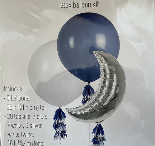 Balloon and tassel set