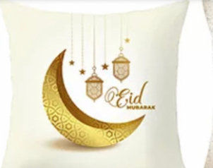 Ramadan/eid  accent pillow case about three week shipping notice