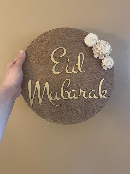 Eid Mubarak Round