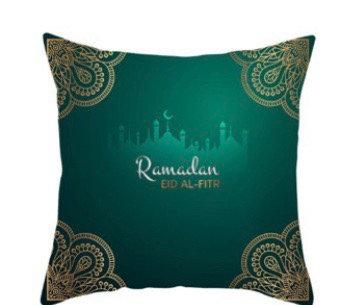 Ramadan accent pillow case