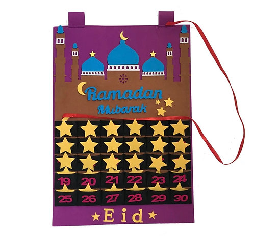 Ramadan / eid count down calendar