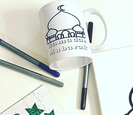 Ramadan color me mug 11 oz