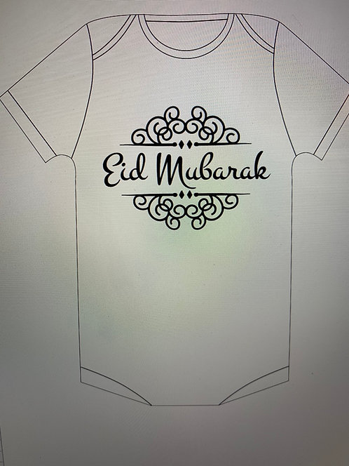 Eid Mubarak onesie