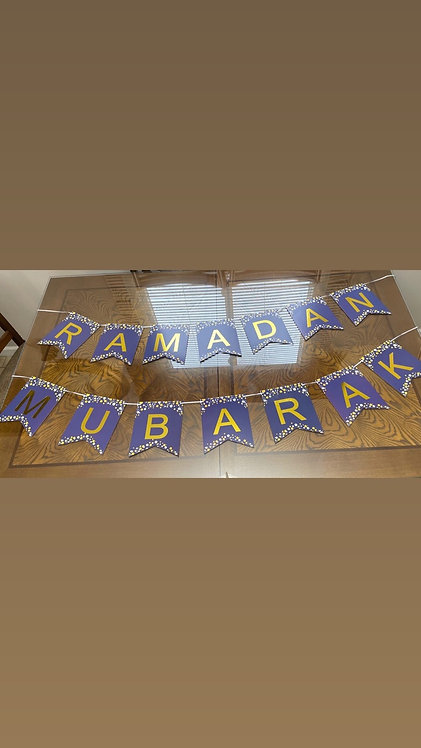 Blue Ramadan banner