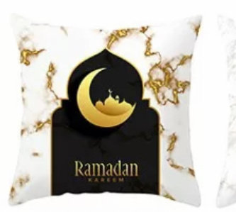 Ramadan/eid  accent pillow case 3 week shipping