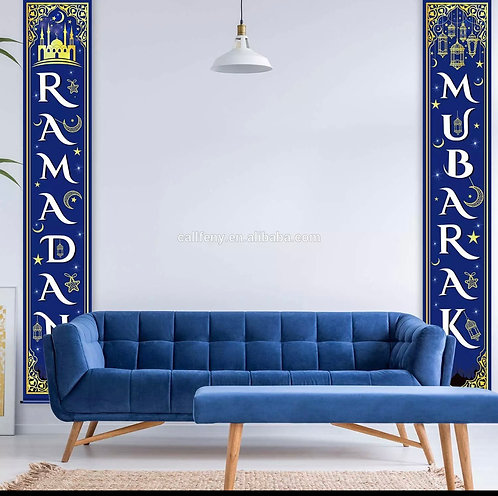 Ramadan Mubarak banners