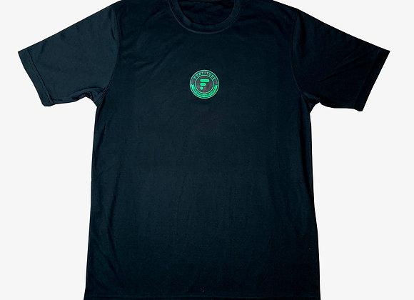 5013 Black Short Sleeve Goalie Top